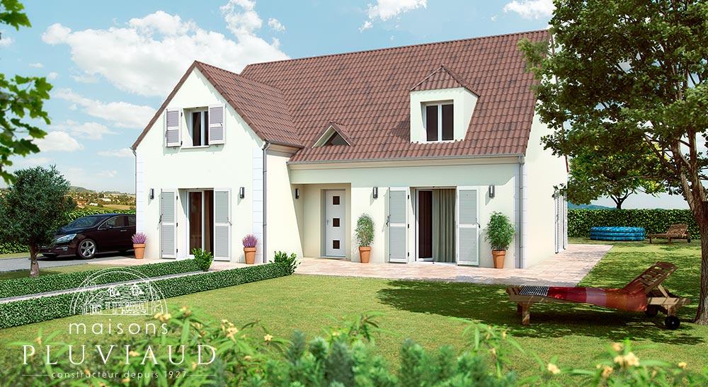 Maison familiale for Modele maison 160m2