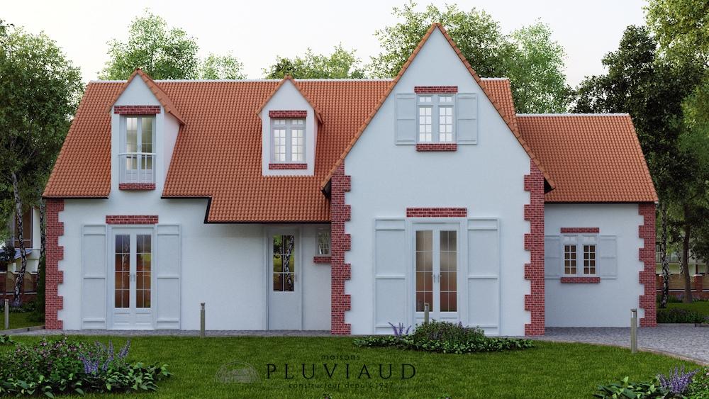 Plans mod les de maisons - Construction maison style ancien ...