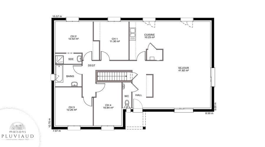 Savigny maisons pluviaud constructeur de qualit for Constructeur maison contemporaine loir et cher